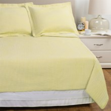 Melange Home Yarn-Dyed Seersucker Quilt Set - Full/Queen in Sun - Overstock