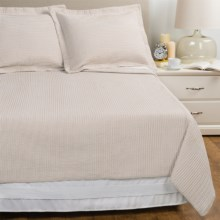 Melange Home Yarn-Dyed Seersucker Quilt Set - Twin in Cafe Au Lait - Overstock
