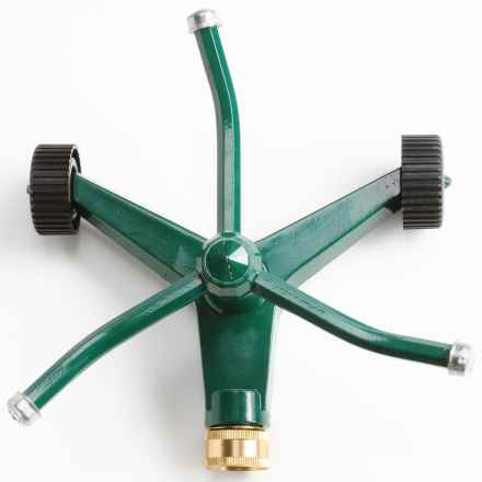 Melnor 3-Arm Revolving Sprinkler - Wheeled in See Photo - Closeouts