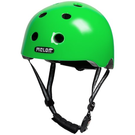 Melon Urban Active Helmet (For Men and Women) in Greeneon Glossy