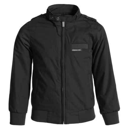 Members Only Iconic Jacket (For Little Boys) in Black - Closeouts