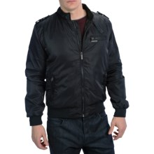 Members Only Iconic Racer Jacket (For Men) in Black - Closeouts