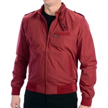Members Only Iconic Racer Jacket - Lightweight (For Men) in Red - Closeouts