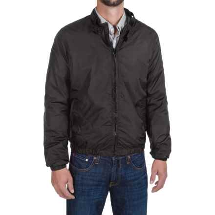 Members Only Packable Jacket - Mesh Lining (For Men) in Black - Closeouts