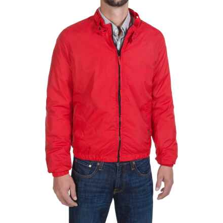 Members Only Packable Jacket - Mesh Lining (For Men) in Red - Closeouts