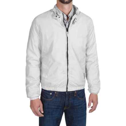 Members Only Packable Jacket - Mesh Lining (For Men) in White - Closeouts