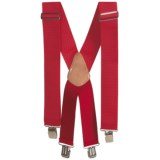 Men At Work Adjustable Suspenders (For Men)