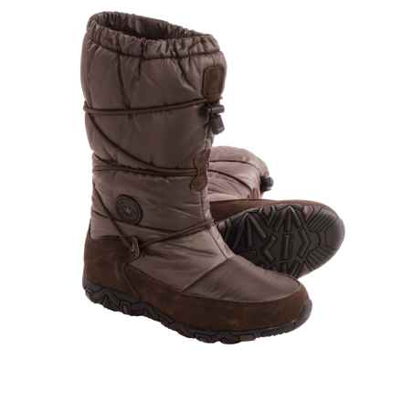 Mephisto Allrounder by  Willow Snow Boots - Waterproof (For Women) in Espresso - Closeouts