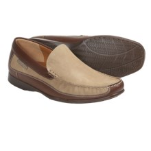 Mephisto Baduard Shoes - Leather (For Men) in Desert Nubuck/Tobacco Calf - Closeouts