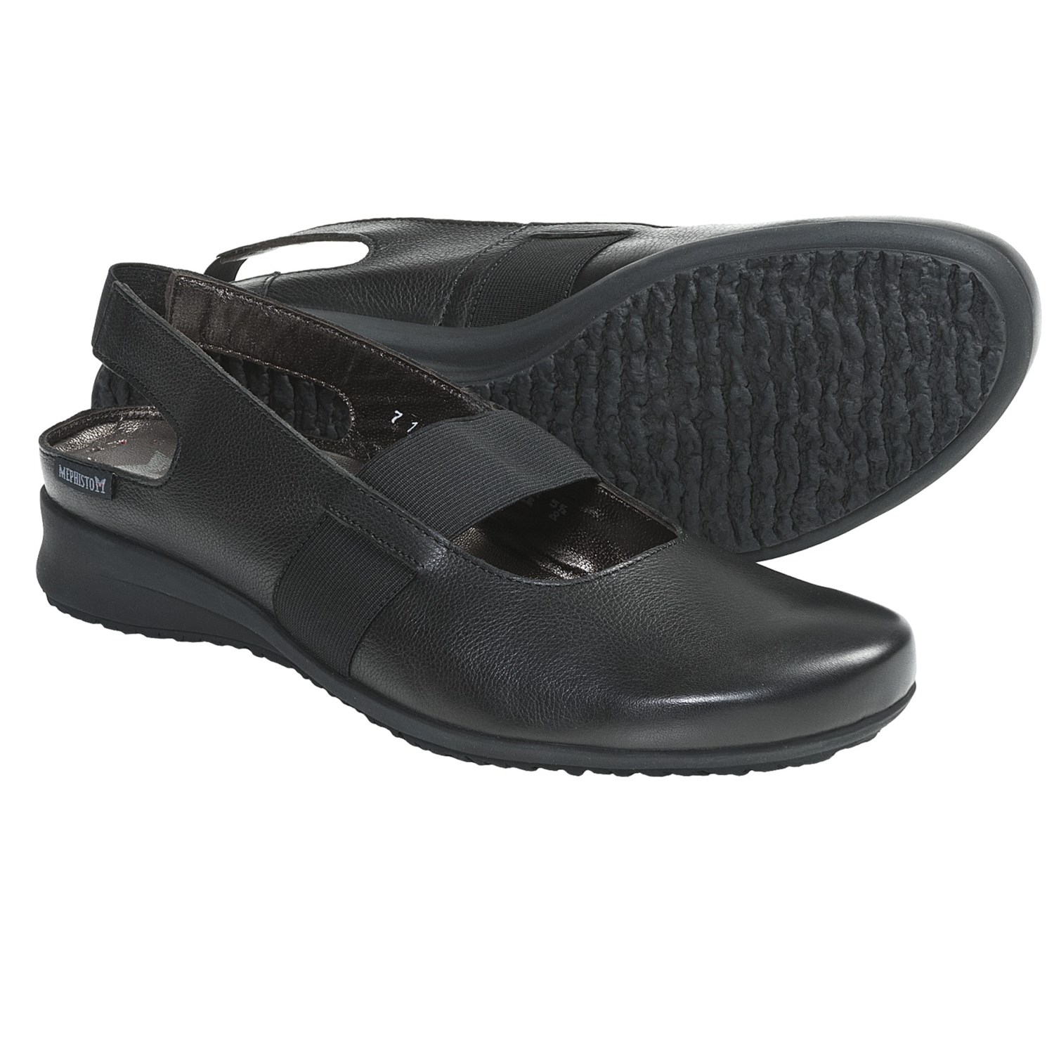 Mephisto Filona Mary Jane Shoes - Leather (For Women) in Black