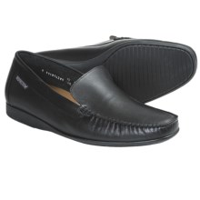 Mephisto Klaus Shoes - Leather, Slip-Ons (For Men) in Black Milton - Closeouts