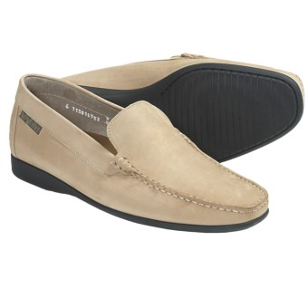 Mephisto Klaus Shoes - Leather, Slip-Ons (For Men) in Off White Nubuck