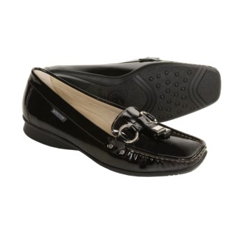 Mephisto Mali Dress Loafers - Slip-Ons (For Women) in Black Sport