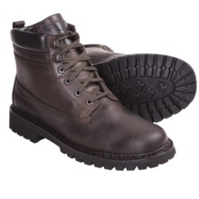 Mephisto Offroad Boots - Leather (For Men) in Dark Brown Rainbuck - Closeouts