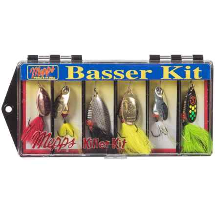 MEPPS Dressed Basser Fishing Kit in Asst - Closeouts