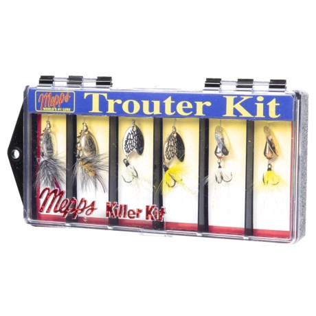 MEPPS Trouter Fishing Lure Kit - 6-Piece in Asst