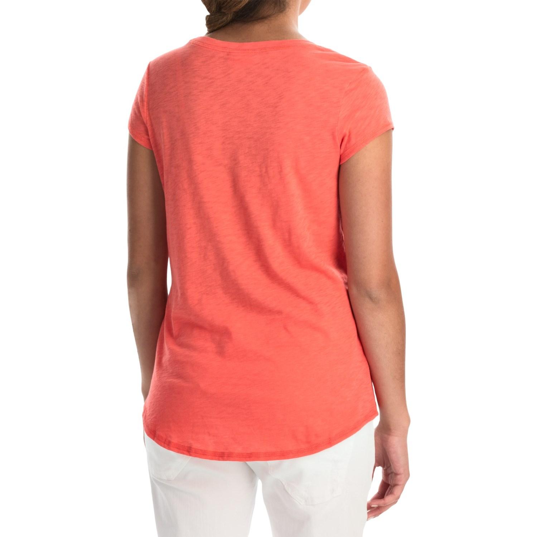 Mercer and madison pima cotton slub t shirt for women for What is a slub shirt