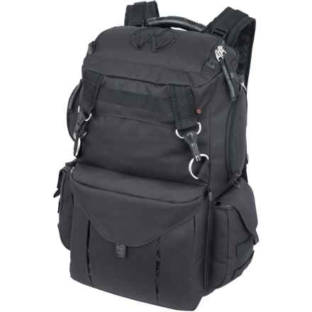 Mercury Rucksack Urban Warrior Backpack in Black - Closeouts