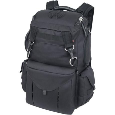 Mercury Rucksack Urban Warrior Backpack in Black