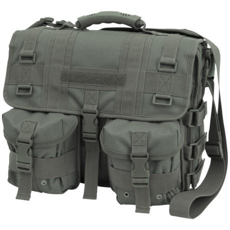 Mercury Tactical Messenger Bag in Foliage Green