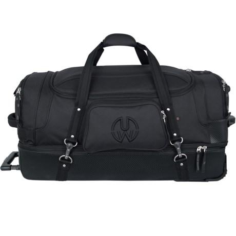 Mercury Wheeled Duffel Urban Warrior Bag in Black