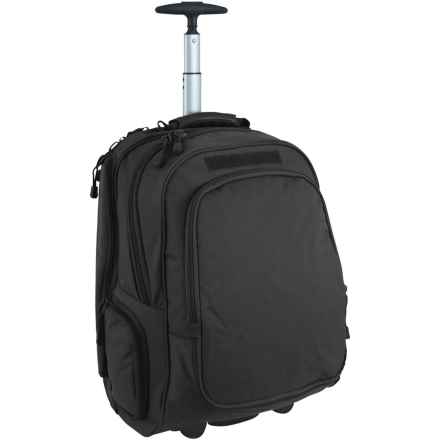 Mercury Wheeled Laptop Backpack - Carry-On in Black - Closeouts