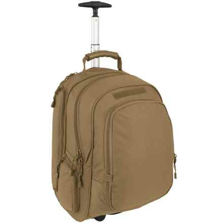 Mercury Wheeled Laptop Backpack - Carry-On in Coyote - Closeouts