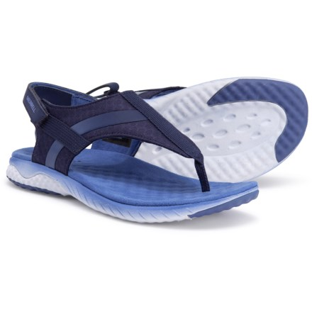 f943f335a53b78 Merrell 1Six8 Linna AC+ Thong Sandals (For Women) in Astral Aura