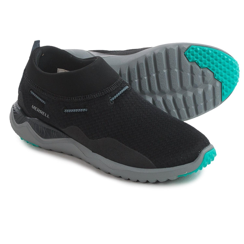 Merrell 1SIX8 Mesh Moc Shoes (For Women) in Black