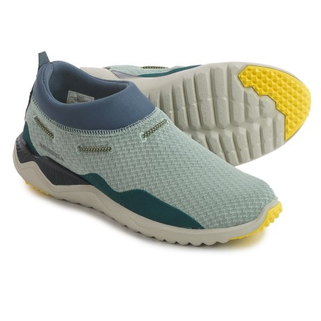 Merrell 1SIX8 Mesh Moc Shoes (For Women) in Blue Surf