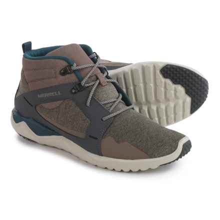 Merrell 1Six8 Mid Sneakers (For Men) in Aluminum - Closeouts