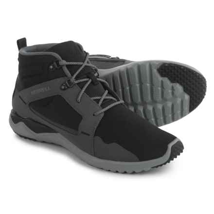 Merrell 1Six8 Mid Sneakers (For Men) in Black - Closeouts
