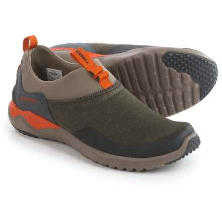 Merrell 1Six8 Moc Shoes (For Men) in Dusty Olive - Closeouts