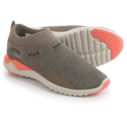 Merrell 1SIX8 Moc Shoes (For Women) in Aluminum - Closeouts