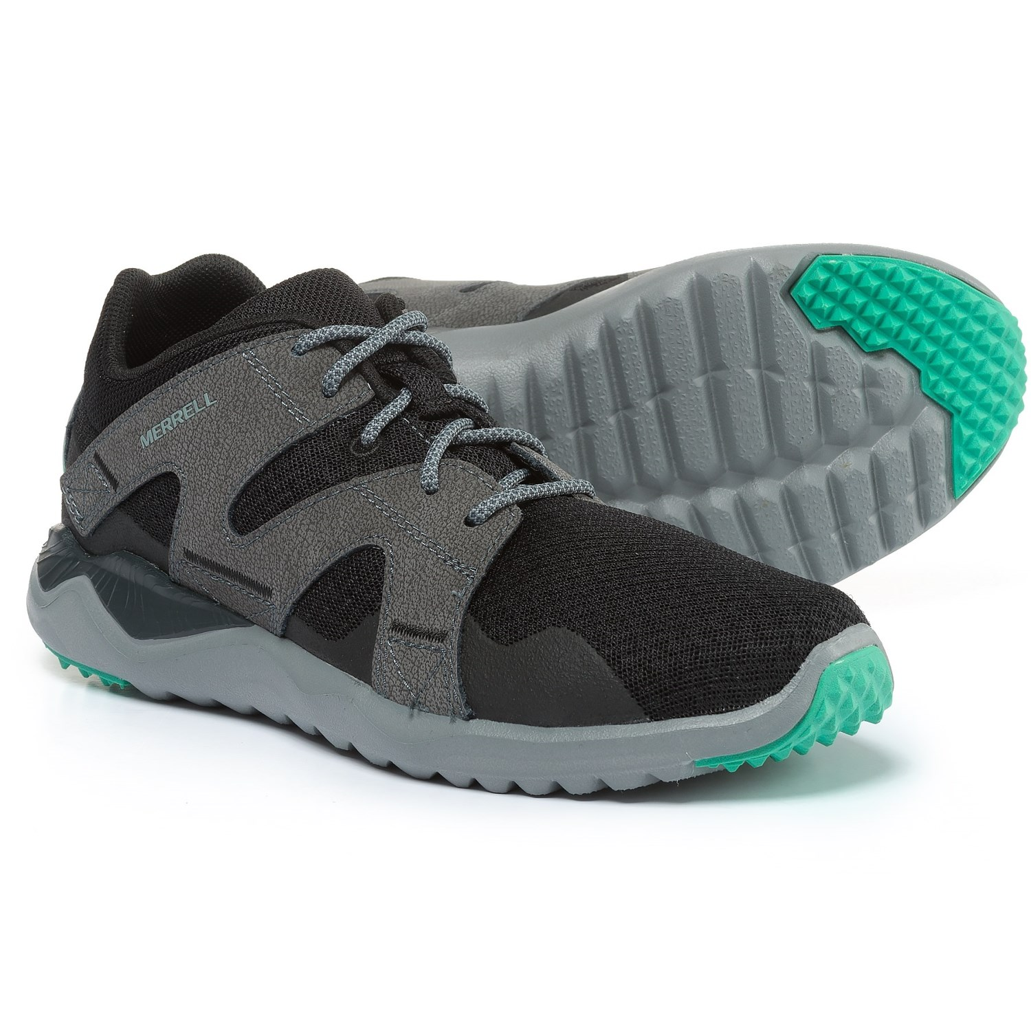 Merrell 1Six8 Sedona Sage Lace-Up Sneakers (For Women) in Mesh Black