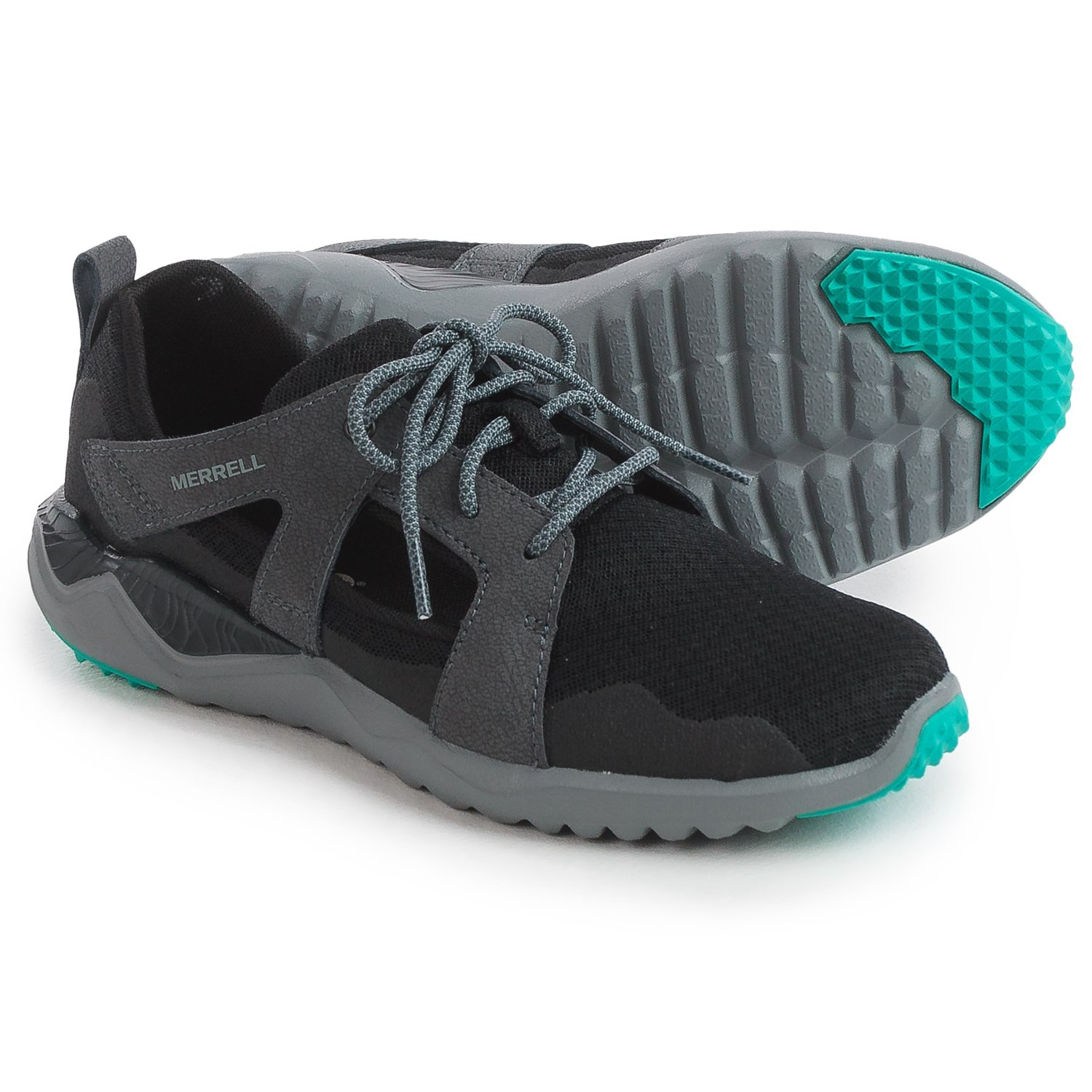 Merrell 1SIX8 Slice Lace Shoes (For Women) in Black