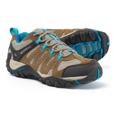 Merrell Accentor Hiking Shoes (For Women) in Kangaroo/Celestial - Overstock