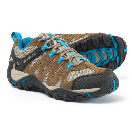 Merrell Accentor Hiking Shoes (For Women) in Kangaroo/Celestial