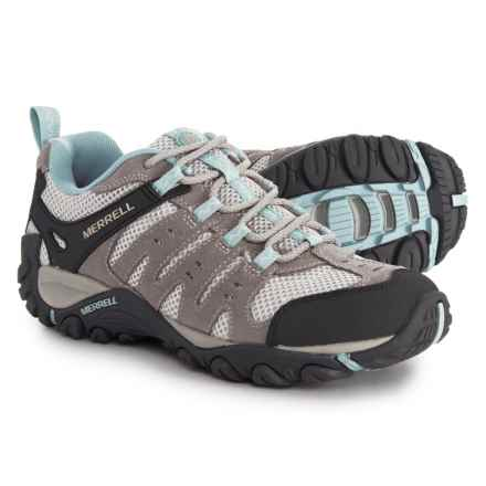 Merrell Accentor Hiking Shoes (For Women) in Wild Dove/Cloud Blue - Overstock