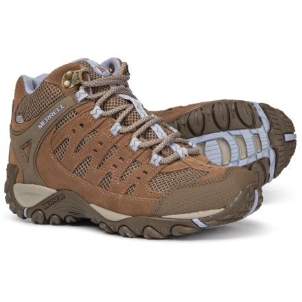 5f7011454066 Merrell Accentor Mid Vent Hiking Boots - Waterproof (For Women) in  Otter Aleutian