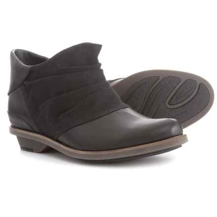 Merrell Adaline Bluff Leather Ankle Boots (For Women) in Black - Closeouts
