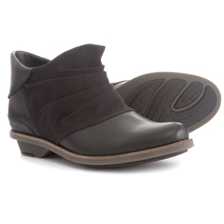 Merrell Adaline Bluff Leather Ankle Boots (For Women) in Black