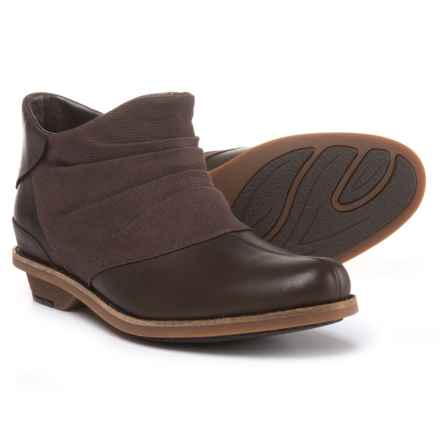 Merrell Adaline Bluff Leather Ankle Boots (For Women) in Bracken - Closeouts