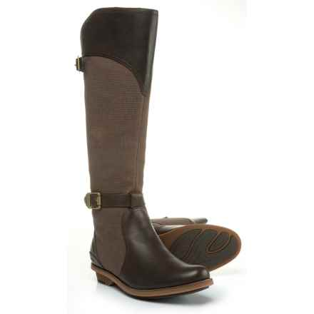 Merrell Adaline Tall Rider Riding Boots (For Women) in Bracken - Closeouts
