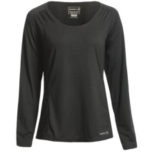 Merrell Adeeline T-Shirt - UPF 20+, Long Sleeve (For Women) in Black - Closeouts