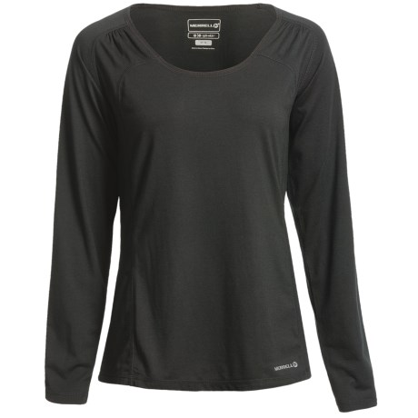 Merrell Adeeline T-Shirt - UPF 20+, Long Sleeve (For Women) in Sakura