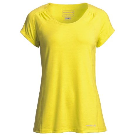 Merrell Adeeline T-Shirt - UPF 20+, Short Sleeve (For Women) in Ginger