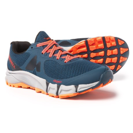 Merrell Agility Charge Flex Trail Running Shoes (For Women) in Navy