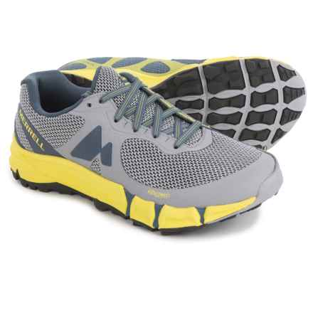 Merrell Agility Charge Flex Trail Running Shoes (For Women) in Sleet - Closeouts