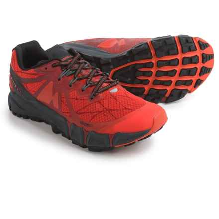 Merrell Agility Peak Flex Trail Running Shoes (For Men) in Merrell Orange - Closeouts